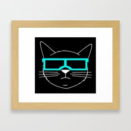 Cool Cat 1 Framed Art Print