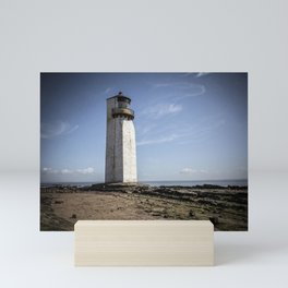 Southerness Lighthouse Mini Art Print