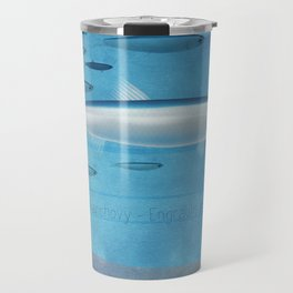 Swimming in the Med - Anchovy Travel Mug