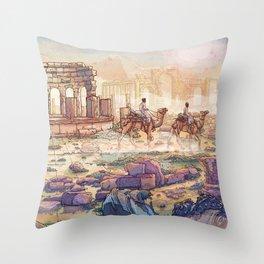 Neapolis Throw Pillow