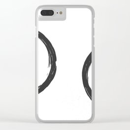 enzo Clear iPhone Case
