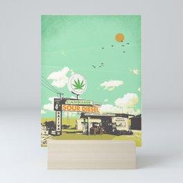 SOUR DIESEL Mini Art Print