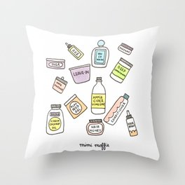 Product Junkie Throw Pillow
