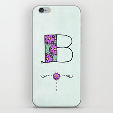 B iPhone & iPod Skin