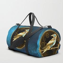 Mechanical Bird ( Steampunk ) Duffle Bag