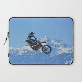 Revelstoke Ride - MotoX Racing in British Columbia Laptop Sleeve
