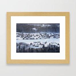 Winter Kanas Framed Art Print