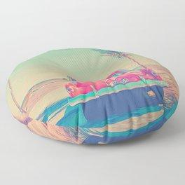 Retro Floor Pillow