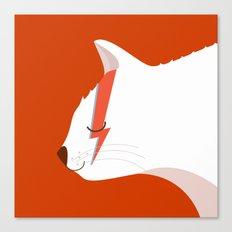 David Meowie Canvas Print