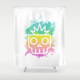 Skull Boy Shower Curtain