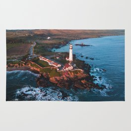 Pigeon Point Lighthouse, California Rug