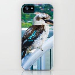 Kooky Kookaburra iPhone Case