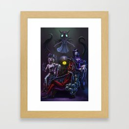 Eris Dreams Framed Art Print
