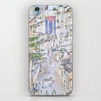 cuba iPhone & iPod Skins featuring Cuba by Leah Vaughn