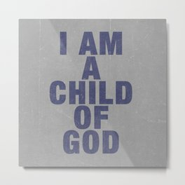 Child of God Metal Print