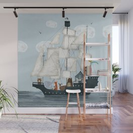 a nautical adventure Wall Mural