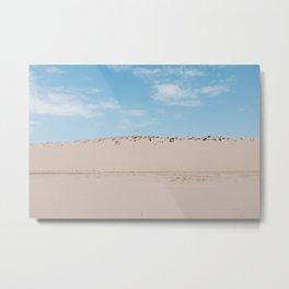 Sun, Wind & Sand (V) Metal Print