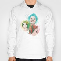 hayley williams Hoodies featuring Hayley Electric Hair by ●•VINCE•●