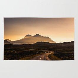 Sunset Mountain Road Rug