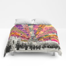 Vintage Paris Comforters