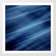 Magic Blue Art Print