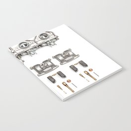 Motorcycle carbs Notebook