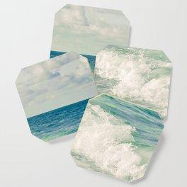 Tropical Beach Bliss Coaster