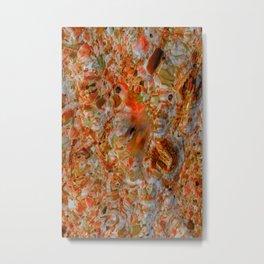 water art lucky 13 Metal Print
