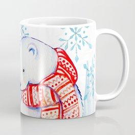 Season's Greetings Love Polar Bears (Color) Coffee Mug