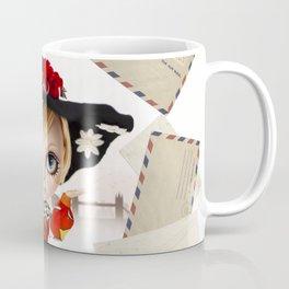 Erregiro Blythe Custom Doll Twiggy Coffee Mug