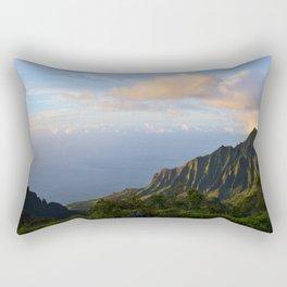 Kalalau Valley Rectangular Pillow