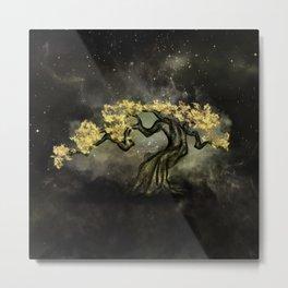 Mystic Tree - Aurus Metal Print