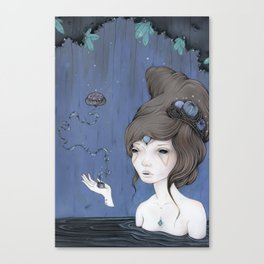 Cave Witch Canvas Print