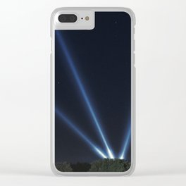 Pew Pew Pew Clear iPhone Case