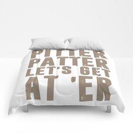Pitter Patter LetterKenny Comforters