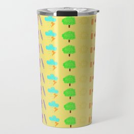 Childish Rainbow Travel Mug