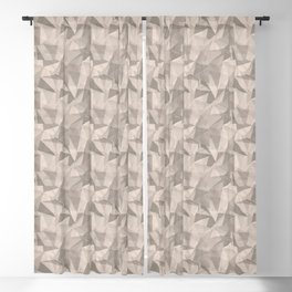 Abstract Geometrical Triangle Patterns 2 Benjamin Moore 2019 Trending Color Head Over Heels Pastel P Blackout Curtain