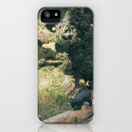 Temporary Happiness part 2 bear iPhone Case