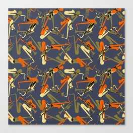 Miles & 'Trane 3 Canvas Print