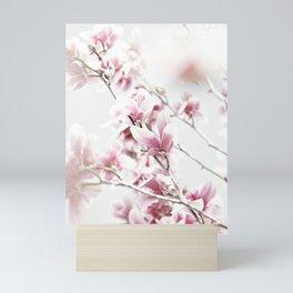 MAGNOLIA WHITE PINK Mini Art Print