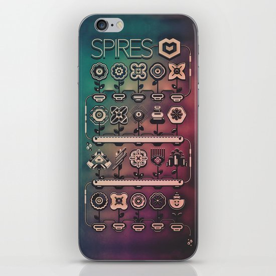 SPIRES IRRIGATION (2014) iPhone & iPod Skin