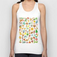 be happy Tank Tops featuring Happy by Vladimir Stankovic