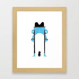 Mr Blue Boy Framed Art Print