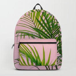 Little palm tree in pink Backpack