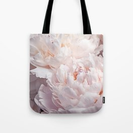 Floral Photography | Peony Pink Cluster | Flowers | Botanical | Plant Tote Bag