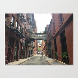Staples Street Footbridge, TriBeCa, NYC Canvas Print