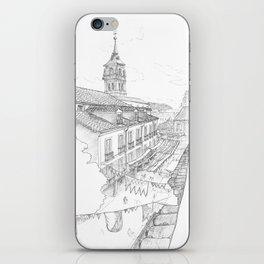 Medieval market iPhone Skin