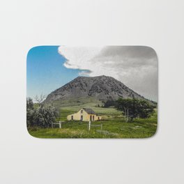 Abandoned House, Bear Butte, South Dakota Bath Mat