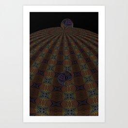 Unfitting Frame Orbitals 5 Art Print
