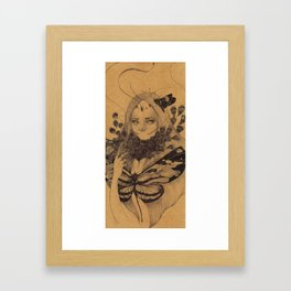 Lamproptera Meges Framed Art Print